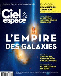 Couverture magazine Ciel & Espace