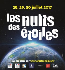 Stargazing event Paris 2017