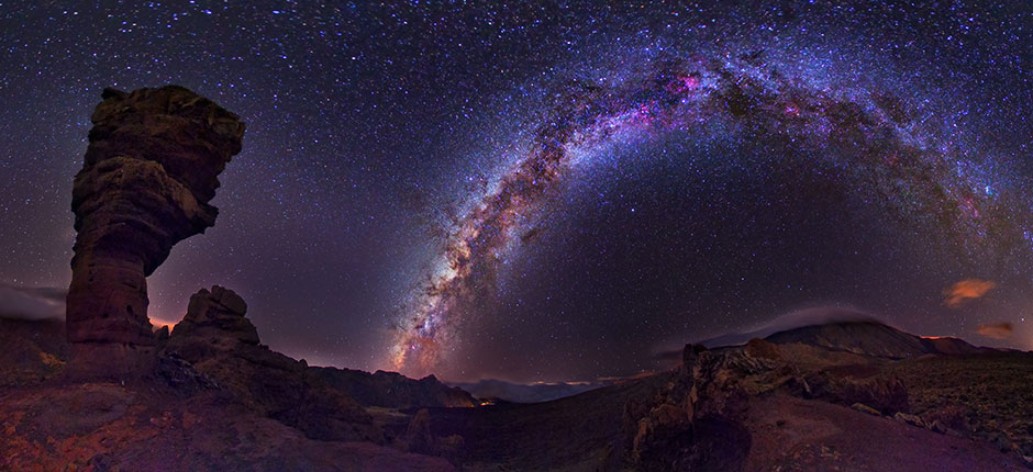 Stargazing in Canary Island