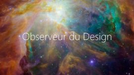 Label Observeur du Design 2018