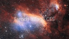 Vaonis remporte le pitch contest French Village CES