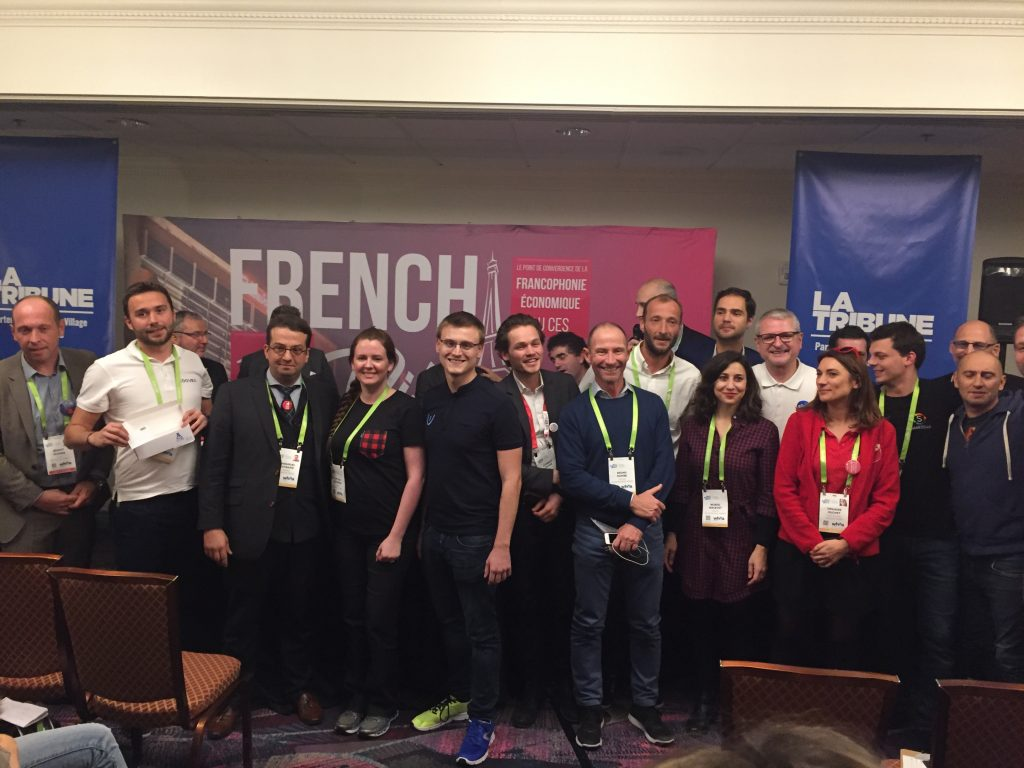 Vaonis gagne le pitch contest French Village CES