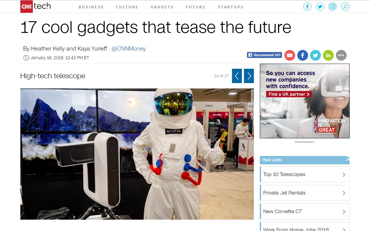17 cool gadgets that tease the future