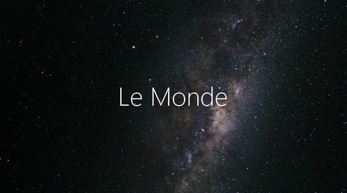 Article Télescope Stellina Le Monde