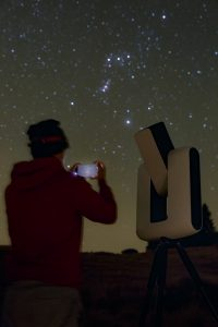 Stellina app-connected telescope