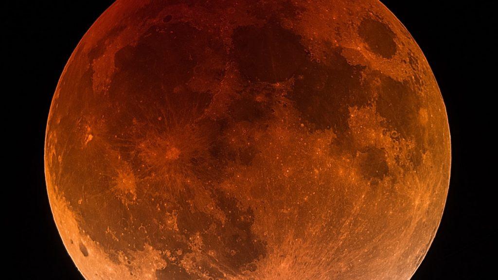 Red moon Lunar eclipse