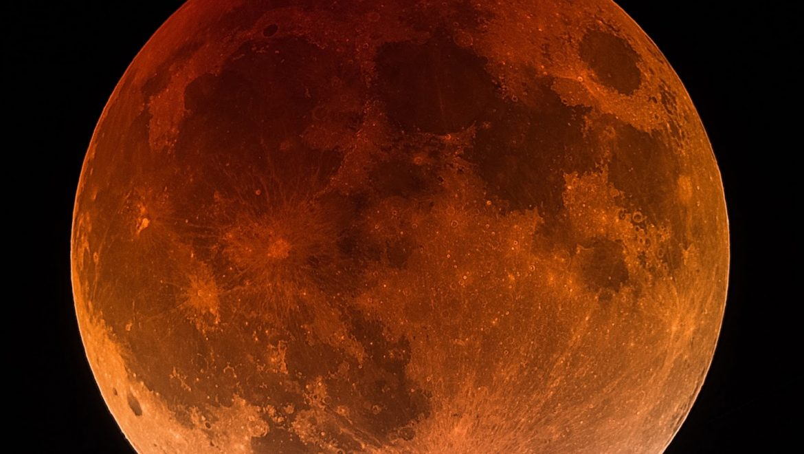 Red moon Lunar eclipse
