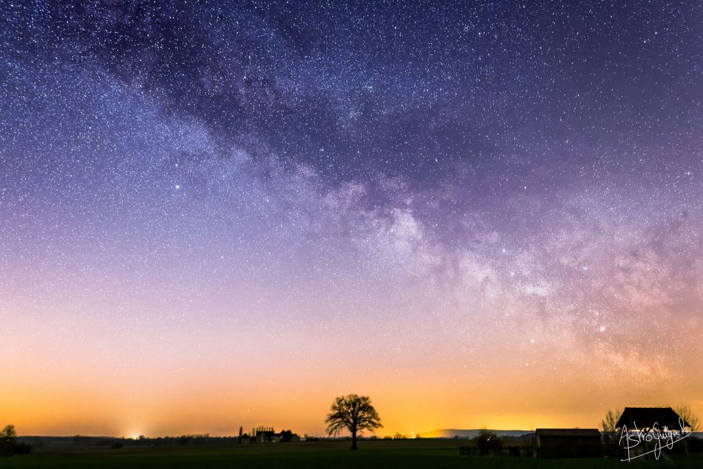 Milky Way France Astroguigeek