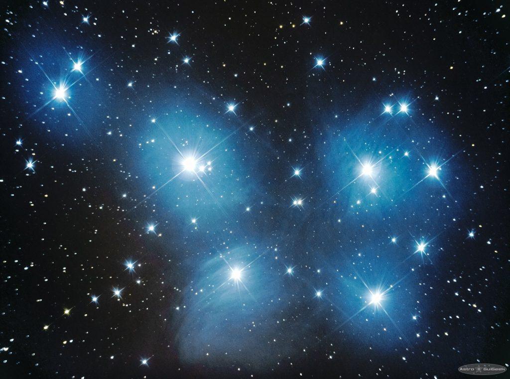 Pleaides star cluster