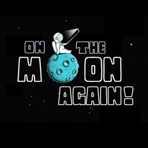 On the Moon Again logo