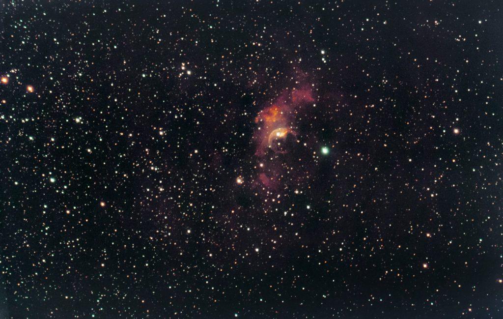 NGC7635 Nébuleuse de la Bulle by STELLINA