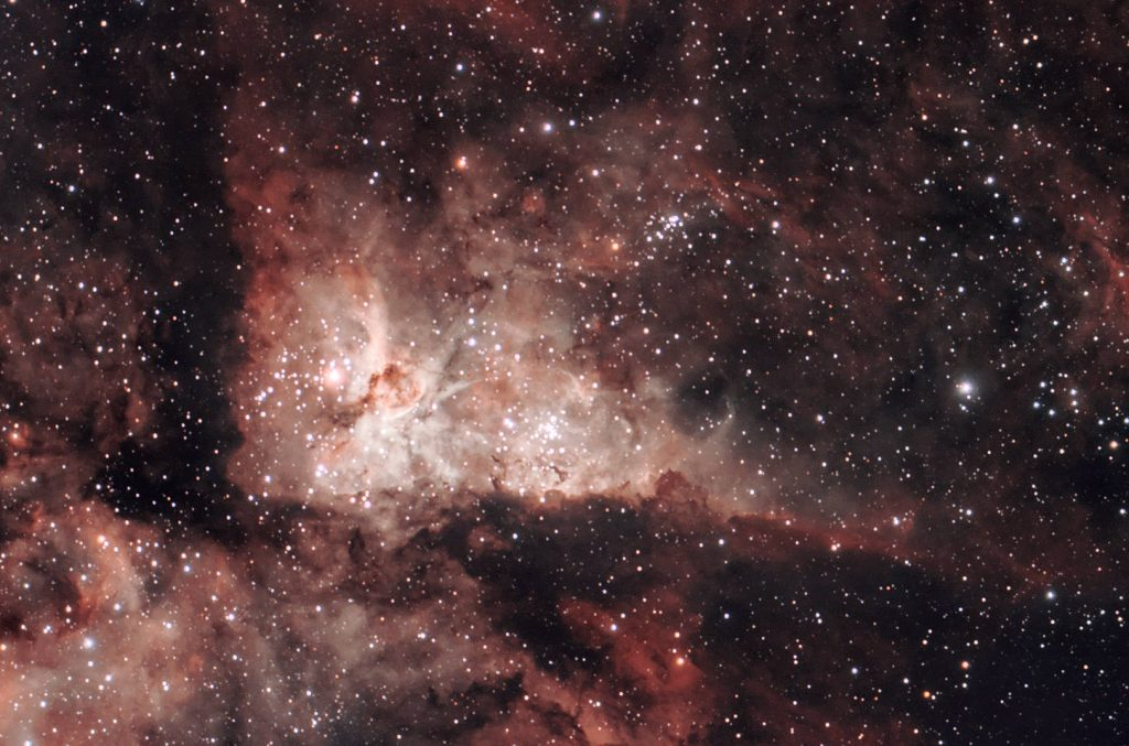 Carina Nebula - Stellina TIFF export and processing