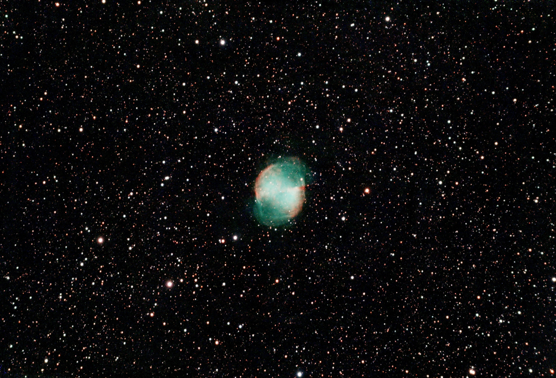 M27 Dumbbell nebula Stellina